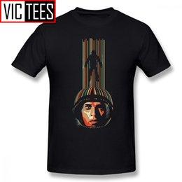 Опт Мужские Истинные Детективные Футболки Interstellar Футболка Big Мужские рубашки Tee Повседневный Fun 100% хлопок Графический Tshirt