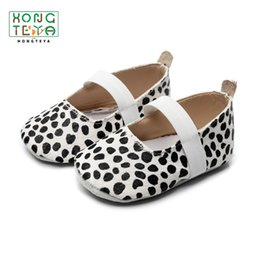 Moccasins For Toddlers Australia - Leopard Baby Shoes Girl Shoes Genuine Leather Ballet First Walker Princess Infant Toddler Baby Moccasins for Newborn Babe Girl