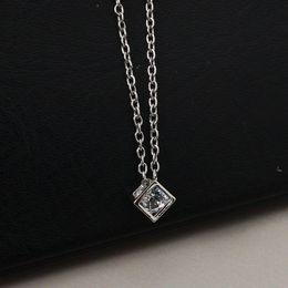 $enCountryForm.capitalKeyWord Australia - Fashion love cube three-dimensional necklace joker small block short clavicle chain