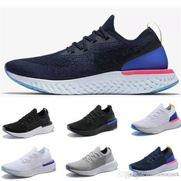 Nike Epic React Flyknit Instantané Go Fly Breath Confortable Hommes Casual Chaussures Sports En Plein Air Hommes Femmes Baskets Baskets Zapatos Taille 36-45 en Solde