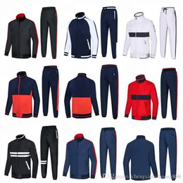 High Quality Embroidery Australia - Spring Autumn Men's 2Pcs Suits Set Casual Sports Suits embroidery Logo Sweatshirts Pant Mens Brand Clothing High Quality New for men 2X