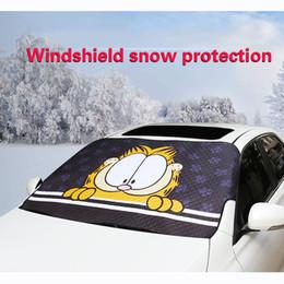 $enCountryForm.capitalKeyWord Australia - WeSheU Brand New 2018 Windowshield Sunshades Cute Cartoon Garfield Car Sun Shade Styling Car Window Foils Windshield sunshade