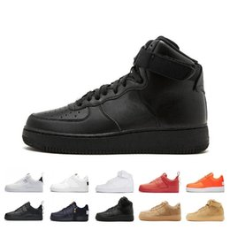 black high sneakers Australia - Discount 1s Dunk Utility Classic Skateboard Casual Shoes High low Cut Green Triples White black Wheat men women Sports sneakers Shoe