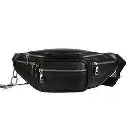 $enCountryForm.capitalKeyWord Australia - Fashion Waist Bag Fanny Pack Multi-function Steam Punk Leg Package PU Leather Shoulder Bag Women Belt Bum Pochete Pack