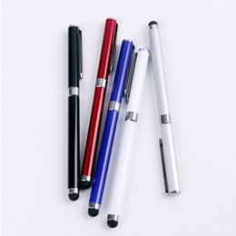 $enCountryForm.capitalKeyWord Australia - 2 in 1 Capacitive Stylus Pen Mini Stylus Touch Screen Pen For Capacitance Screen Iphone 6 7 8 x for Ipad 2 3 4 SUMSANG s8 s9 s10