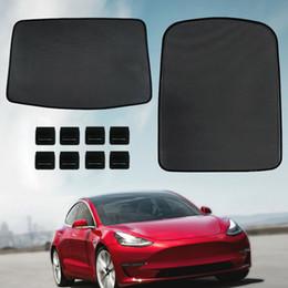 $enCountryForm.capitalKeyWord Australia - Car Window Sun Shades Car Sunroof Screen Shade Car Curtain for Tesla Model 3