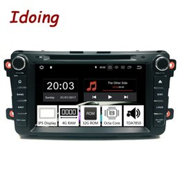 """mazda dvd android 2019 - Idoing 8""""2Din Radio Android 9.0 For Mazda CX9 2007-2015 Car Multimedia System DVD Player GPS Navigation 4G+32G TDA7"""