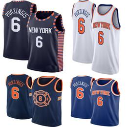 c82dbeb82 2019 Men's Kristaps 6 Porzingis Kevin 20 Knox Jersey 14 trire 100% Stitched Basketball  Jerseys