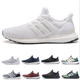 f3ace44237c00 2019 New Ultra Boost 3.0 4.0 Men Women Running Shoes Primeknit Triple Black  White Oreo grey Ultra Boosts ultraboost Sport Sneakers