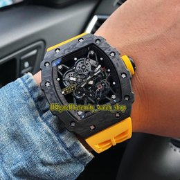 $enCountryForm.capitalKeyWord NZ - 5 Style Best version RM 35-01 RAFAEL NADAL NTPT All Carbon Fiber Case Skeleton Japan NH Automatic RM35-01 Mens Watch Rubber Sport Watches
