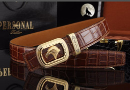 metal eagle Australia - Perfect quality Male casual Lux leather belts Eagle buckles hardware designer glossy personal waistbands Italian