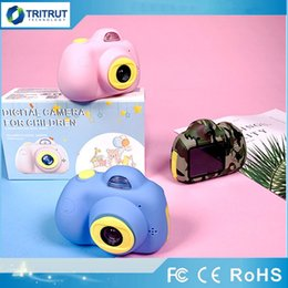 full frame camera UK - Children Mini Camera Toy Digital Photo Camera Kids Toys Educational photography gifts toddler toy 8MP hd Toy KID Cameras SD TF Card MQ30
