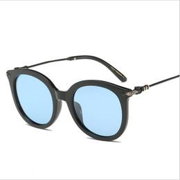 428dcb77bc Cat Eye Sunglasses Brand Designer Óculos De Sol de Alta Qualidade Full Frame  UV400 Lentes de Moda Óculos Eyewear com Casos Livres e Caixa