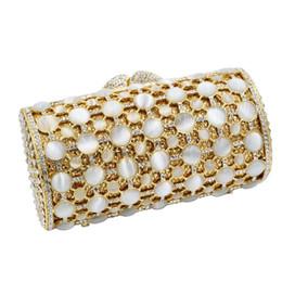 7a2e238ca085 Модные женские вечерние клатчи Крупные частицы Рейнский камень Инкрустация вечерние  клатчи Crystal Кошелек
