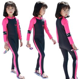 Diving swimwear online shopping - Kidlove Kids Girls Boys Sunscreen Quick Dry Long Sleeve Diving Muslim Swimwear