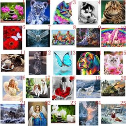 Quality Diamond Embroidery Animals Little Tiger Butterfly 5d Diamond Painting Picture Of Rhinestones Beaded Art Home Wall Decor Gift Superior In