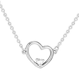4b35a4a32428a Huge savings for Necklace For Valentines Day. 1 3. Hearts of Love Pendant  Necklaces for Women Valentine Day Silver 925 Jewelry ...
