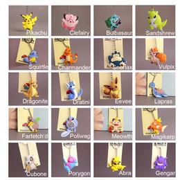 $enCountryForm.capitalKeyWord Australia - Anime Go Pvc Keychain Pocket Monsters Pikachu Charmander Squirtle Bulbasaur 3d Mini Figure Key Ring Dropship