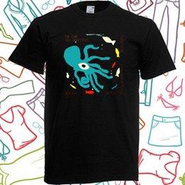 Black white half shirt men online shopping - The Cure Half An Octopuss Rock Men s Black T Shirt Size S to XLMen Tops Tees Summer Fashion New