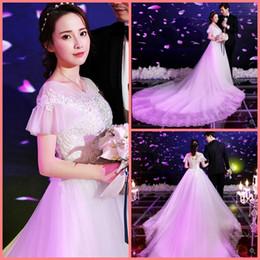 $enCountryForm.capitalKeyWord NZ - 2019 new arrival ball gown white lace appliques wedding dress modest short sleeve muslim women beaded wedding gowns hot sale bride dresses