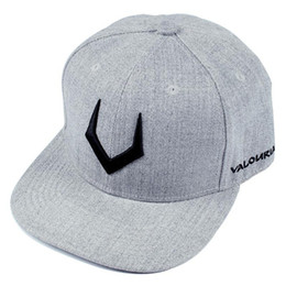 343d21bc20c64 High quality grey wool snapback 3D pierced embroidery hip hop cap flat bill baseball  cap for men and women dad cap free shipping