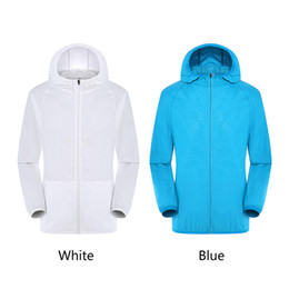 $enCountryForm.capitalKeyWord UK - Unisex Smart Air Conditioning Coat Hiking Jacket Hooded With Cooling Fan USB Sun Protection Waterproof Ventilation Three Gear