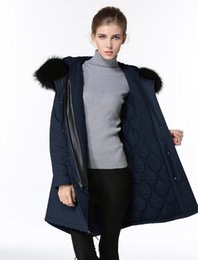 $enCountryForm.capitalKeyWord Australia - Meifeng brand black raccoon fur trim winter coats for sale women snow jacket navy blue down fill lining navy blue long parkas