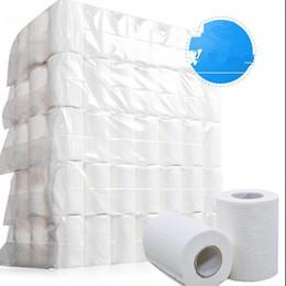Rotolo di carta igienica del tessuto 4-strato morbido igienica Home Cuscinetti carta liscia 4ply Carta velina toletta tovagliolo KKA7703 in Offerta