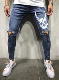 $enCountryForm.capitalKeyWord Australia - D2 Jeans men brand jeanss mens new designer men jeans retro pants street hip hop man Hole locomotive Pants Trend printed denim trousers male