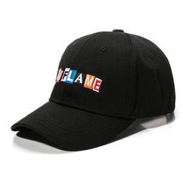 968c3a8649c Xiangzhou Cap La Flame Dad Hat 2018 new Hip Hop Rap Adjustable baseball cap  men women cotton snapback golf cap hats bone  17436