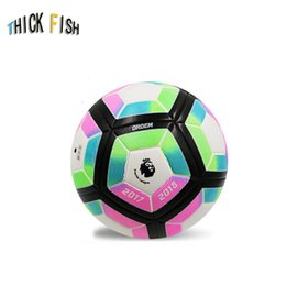 Indoor balls online shopping - 2018 Soccer Premium Upholstery Football Indoor Outdoor Games Football PU Soccer Ball Official Size or