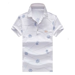 more anti UK - The summer new lapel short sleeve digital direct spray rose print more stereoscopic style fashion sense
