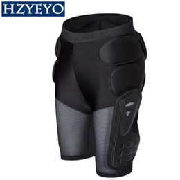 xxl motocross gear NZ - HZYEYO Breathable Motocross Knee Protector Motorcycle Armor Shorts Skating Extreme Sport Protective Gear Hip Pad Pants P-01