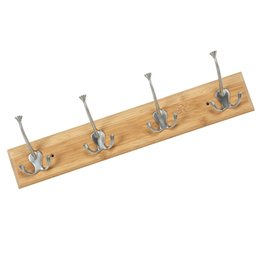 wood coating NZ - Wood Base Storage Coat Rack Organizer Accessories Home Kitchen Bathroom Decoration Hat Multifunctional Back Door Clothes Hook