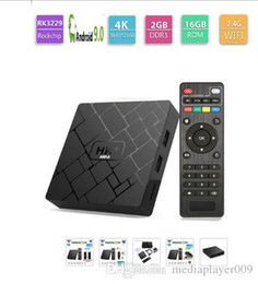 android tv box 2gb ram 16gb Canada - HK1 Mini TV Box Android 9.0 Smart TV BOX RK3229 Quad Core 2GB RAM 16GB ROM H.265 HEVC 2.4G Wifi 4K HD Media Player Set top box