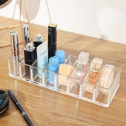 $enCountryForm.capitalKeyWord Australia - new fashion transparent Acrylic cosmetics storage box Lipstick Holder Makeup Brush tools Organizer case for