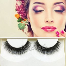 12mm eyelashes NZ - 1 Pair New Fashion Mink Natural Thick False Fake Eyelashes Eye Lashes Makeup Extension Hot Sale