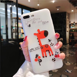 $enCountryForm.capitalKeyWord Australia - Case for iPhone 6s X XS Max XR New Cute animal Couple Soft Cover For iPhone 7 8 silicon