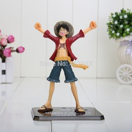 "one piece action figures collection UK - 3 pcs 16cm 6.3"" Japanese Anime Cartoon One Piece New World Luffy Action Figures PVC Toys Doll Model Collection"
