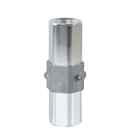 "Wholesale 3   4"" NPT Fuel Dispenser Hex Breakaway Valve Accessories Aluminum Alloy Auto Break Away Valve Car Accessories"