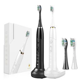 frequency brush Australia - Rechargeable Portable Sonic Frequency Conversion Electric ToothbrushTeeth Cleaning and Whitening Toothbrush Souness SN801 &2 pcs brush head,