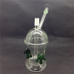 Starbucks Cups Bong Australia - Starbucks Glass Cup Cheech Glass Honey Cup with One Pair of Tortoise Oil Rigs Bongs Glass Hookah Water Pipe