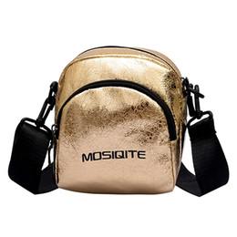 $enCountryForm.capitalKeyWord NZ - Fashion Women Female Pleated Burst Crack Leather Mini Phone Cross body Bag Messenger Bag Shoulder Bag For Teenager Girls