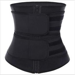 3 Color Neoprene Sauna Waist Trainer Corset Sweat Slim Belt for Women Fitness Gym Body Shaper Compression Trimmer Workout Fitness on Sale