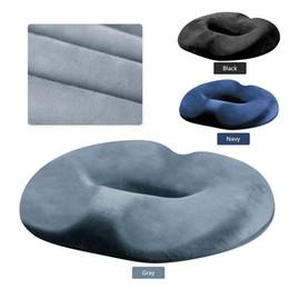 Car Office Chairs Australia - Hip Beauty Cushion Slow Rebound Memory Foam Anti-Decubitus Cushion for Pregnant Women Living Chair Car Office Home Buttocks Seat