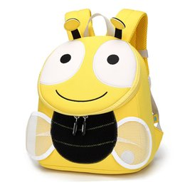 toddler boys gifts Australia - Toddler Kids Backpack Schoolbag Cartoon 3D Bee Bag For Girls Boys Children School Bags Student Kids Bag Gift Mochila Escolar Kindergarten