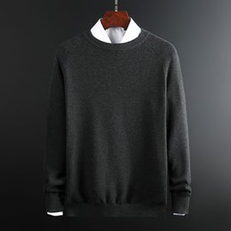 $enCountryForm.capitalKeyWord Australia - 2019 New Fashion Brand Sweaters Men Pullover Warm Slim Fit Jumpers Knitwear Thick O-Neck Winter Korean Style Casual Mens Clothes