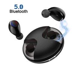 Drahtlose Ohrhörer, KISDISK Bluetooth V5.0-Kopfhörer IPX5 Wasserdichte Kopfhörer mit Rauschunterdrückung, 20 Stunden Wiedergabezeit Eingebaute Mikrofon-Headsets mit Anschluss