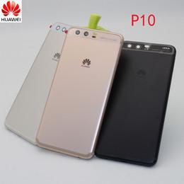 """housing huawei 2019 - Original Huawei P10 Plus Back Battery Cover Rear Door Housing Case Replacement For 5.1"""" Huawei P10 Battery cover+Si"""