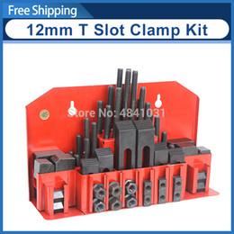 $enCountryForm.capitalKeyWord Australia - 58pcs 12mm T Slot Clamping Kit for SIEG X2, Super X2, X3 & Super X3 S N:10049